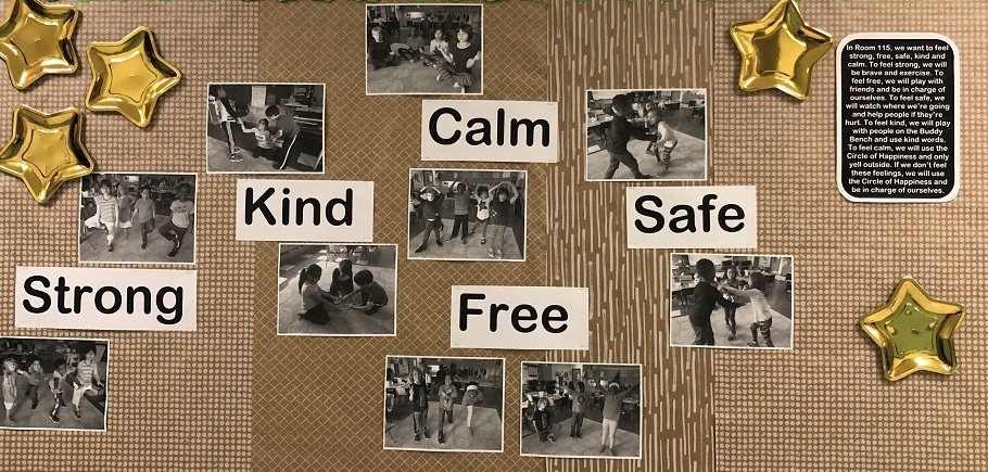 Strong, Kind, Calm, Free, Safe